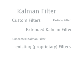 Estimation algorithms / filters
